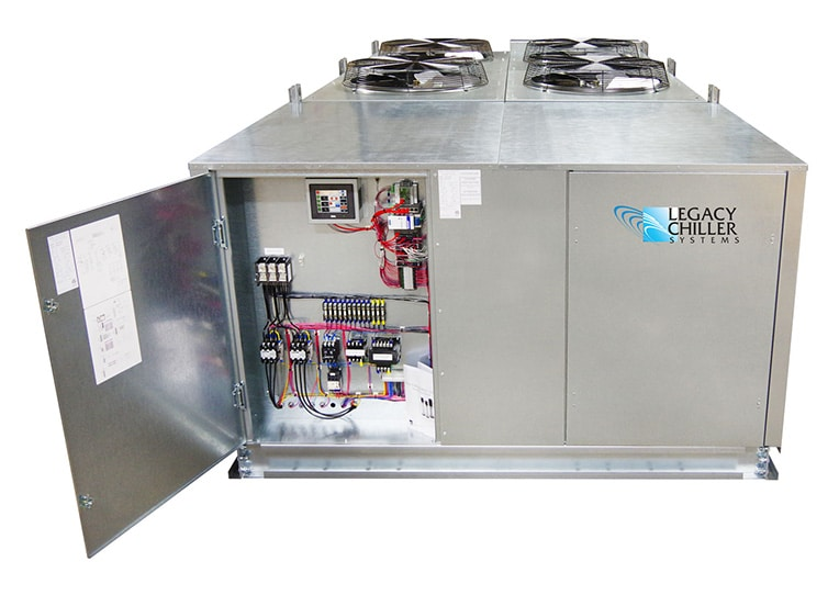 Microprocessor Controls for Process Chillers