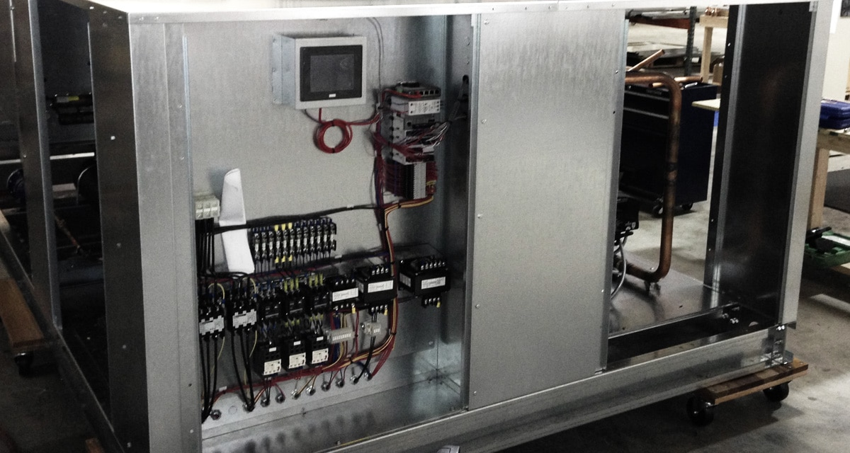 Package Air-Cooled Process Chiller with Semi-Hermetic Compressor