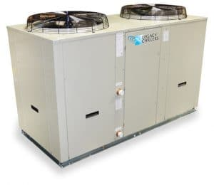 Package Air-Cooled Process Chiller Tankless