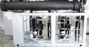 Package Water-Cooled Process Chiller with Integrated Stainless Tank