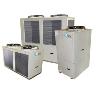 Water-Cooled Scroll Process Chillers