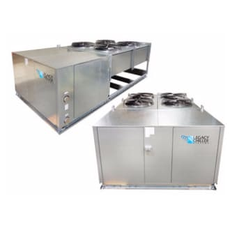 Air-Cooled Semi-Hermetic Process Chillers