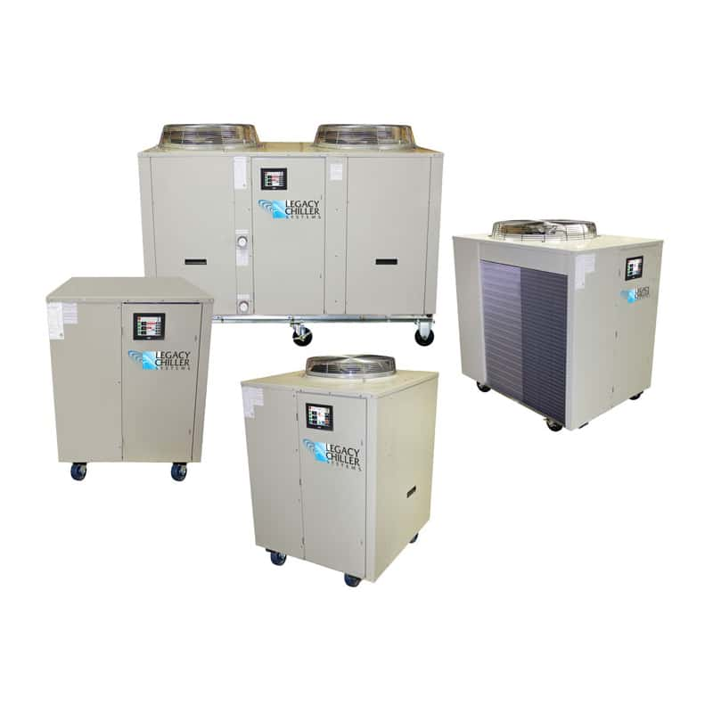 Portable Water-Cooled & Air-Cooled Process Chillers