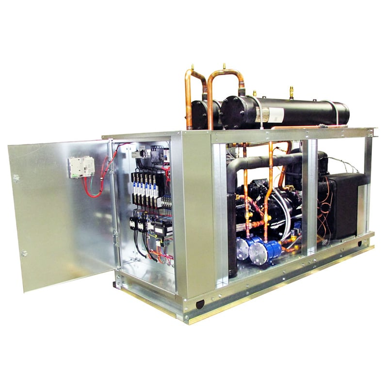 Water-Cooled Semi-Hermetic Process Chillers